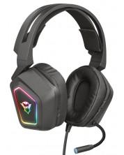 Casti gaming TRUST - GXT 450 Blizz, RGB ,7.1, negre