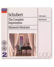 Alfred Brendel - Schubert: the Complete Impromptus/Moments Musicaux (2 CD)