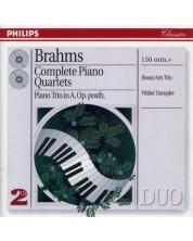 Beaux Arts Trio, Walter Trampler - Brahms: Complete Piano Quartets (2 CD)