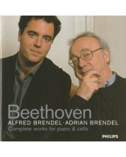 Alfred Brendel Adrian Brendel - Beethoven: Complete Works for Piano & Cello (2 CD)
