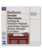 Alfred Brendel - Beethoven: Favourite Piano Sonatas (2 CD)
