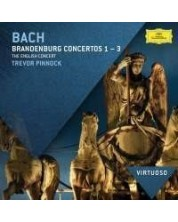 The English Concert, Trevor Pinnock - Bach, J.S.: Brandenburg Concertos Nos.1 - 3 - (CD)