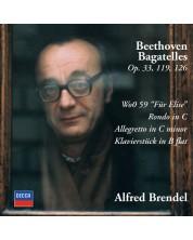 Beethoven: Bagatelles; Für Elise; Rondo in C; Allegretto in C minor; Klavierstück (CD)