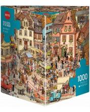 Puzzle Heye de 1000 piese - Piata, Doro Gobell si Peter Knorr