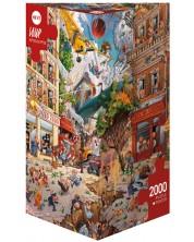 Puzzle Heye de 2000 piese - Apocalipsa, Jean-Jacques Loup