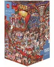 Puzzle Heye de 1500 piese - Cofetarie, Rita Berman