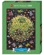 Puzzle Heye de 1000 piese - Fotbal, Mordillo