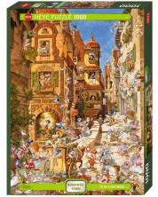 Puzzle Heye de 1000 piese - In timpul zilei, Michael Ryba