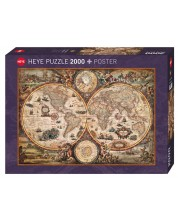 Puzzle Heye de 2000 piese - Lumea vintage, Rajco Zigic