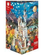 Puzzle Heye de 2000 piese - Bavaria, Michael Ruba