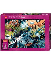 Puzzle Heye de 1000 piese - Filmele lui Tim Burton, Alexandri Clarice