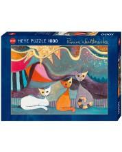 Puzzle Heye de 1000 piese - Panglica galbena, Rosina Wachtmeister
