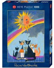 Puzzle Heye de 1000 piese - Ploaie de aur, Rosina Wachtmeister