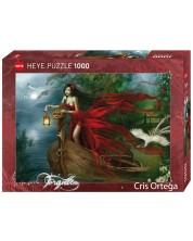 Puzzle Heye de 1000 piese - Lebede, Cris Ortega