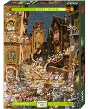 Puzzle Heye de 1000 piese - In timpul noptii, Michael Ryba