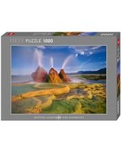 Puzzle Heye de 1000 piese - Gheizer in actiune, Alexander von Humboldt