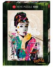 Puzzle Heye de 1000 piese - Audrey, Johnny Cheuk