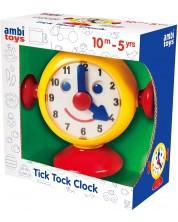 Jucarie pentru copii Ambi Toys - Primul meu ceas, Tic-tac -1