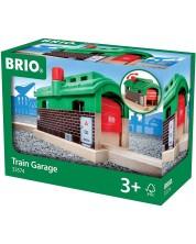 Accesoriu feroviar Brio - Garaj pentru tren -1