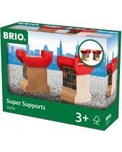 Set accesorii feroviare Brio - Coloane de sustinere -1