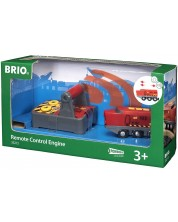 Accesoriu feroviar Brio - Locomotiva cu telecomanda -1
