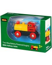 Accesoriu feroviar Brio - Locomotiva retro, luminoasa -1