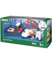 Tren Brio - De pasageri, cu telecomanda -1