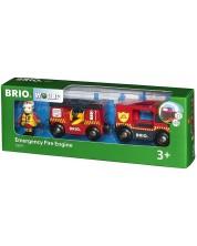 Jucarie Brio World - Masina de pompieri -1