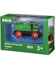 Accesoriu feroviar Brio - Locomotiva, cu lumini II -1