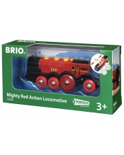 Accesoriu feroviar Brio - Locomotiva Mighty Red Action -1