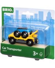 Accesoriu feroviar Brio - Vagon-transportor -1