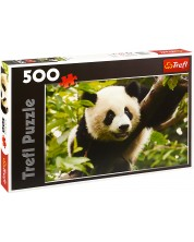 Puzzle Trefl de 500 piese - Panda