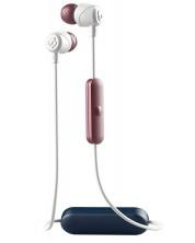 Casti cu microfon Skullcandy - Jib Wireless, vice/gray/crimson
