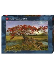 Puzzle Heye de 1000 piese - Copac stroncium, Andy Thomas