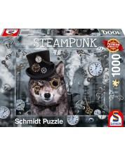 Puzzle Schmidt de1000 piese - Markus Binz Steampunk Wolf