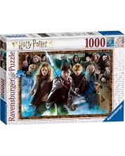 Puzzle Ravensburger de 1000 piese - Harry Potter si vrajitorii