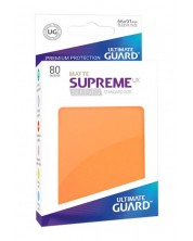 Protectii Ultimate Guard Supreme UX Sleeves - Standard Size - portocaliu (80)