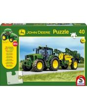 Puzzle Schmidt de 40 piese - John Deere 6630