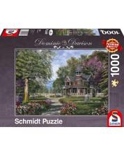 Puzzle Schmidt de 1000 piese - Conacul cu turn, Dominic Davison