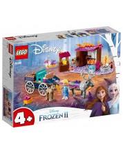 Constructor Lego Disney Frozen - Aventura Elsei cu caruta (41166)
