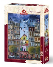 Puzzle Art Puzzle de 500 piese - Strada viselor, Marek Brzozowski