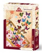 Puzzle Art Puzzle de 500 piese - Briza de primavara, Eren Malchok