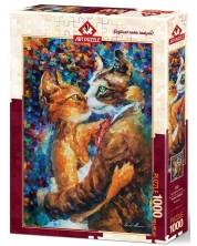 Puzzle Art Puzzle de 1000 piese - Dansul pisicilor indragostite, Leonid Afremof