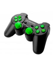 Controller wireless Esperanza - Gladiator, verde