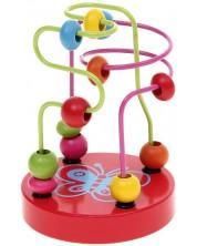 Labirint-jucarie de insirat Andreu Toys - Fluture -1