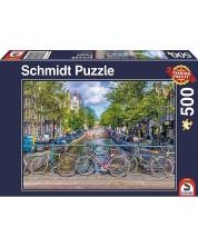 Puzzle Schmidt de 500 piese - Amsterdam