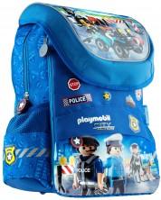 Ghiozdan scolar  Astra Playmobil - PL-11, Politia