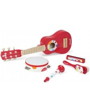 Set instrumente muzicale din lemn Janod -Confetti -1
