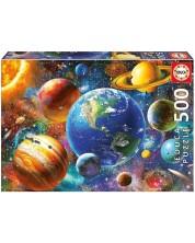 Puzzle Educa de 500 piese - Sistemul solar