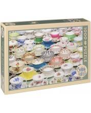 Puzzle Cobble Hill de 1000 piese - Cesti de ceai